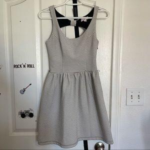 Candie's Striped Fit n Flow Dress Size XS